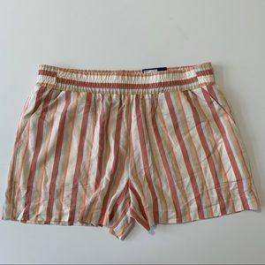 Apt. 9 Challis Shorts Multi Stripe